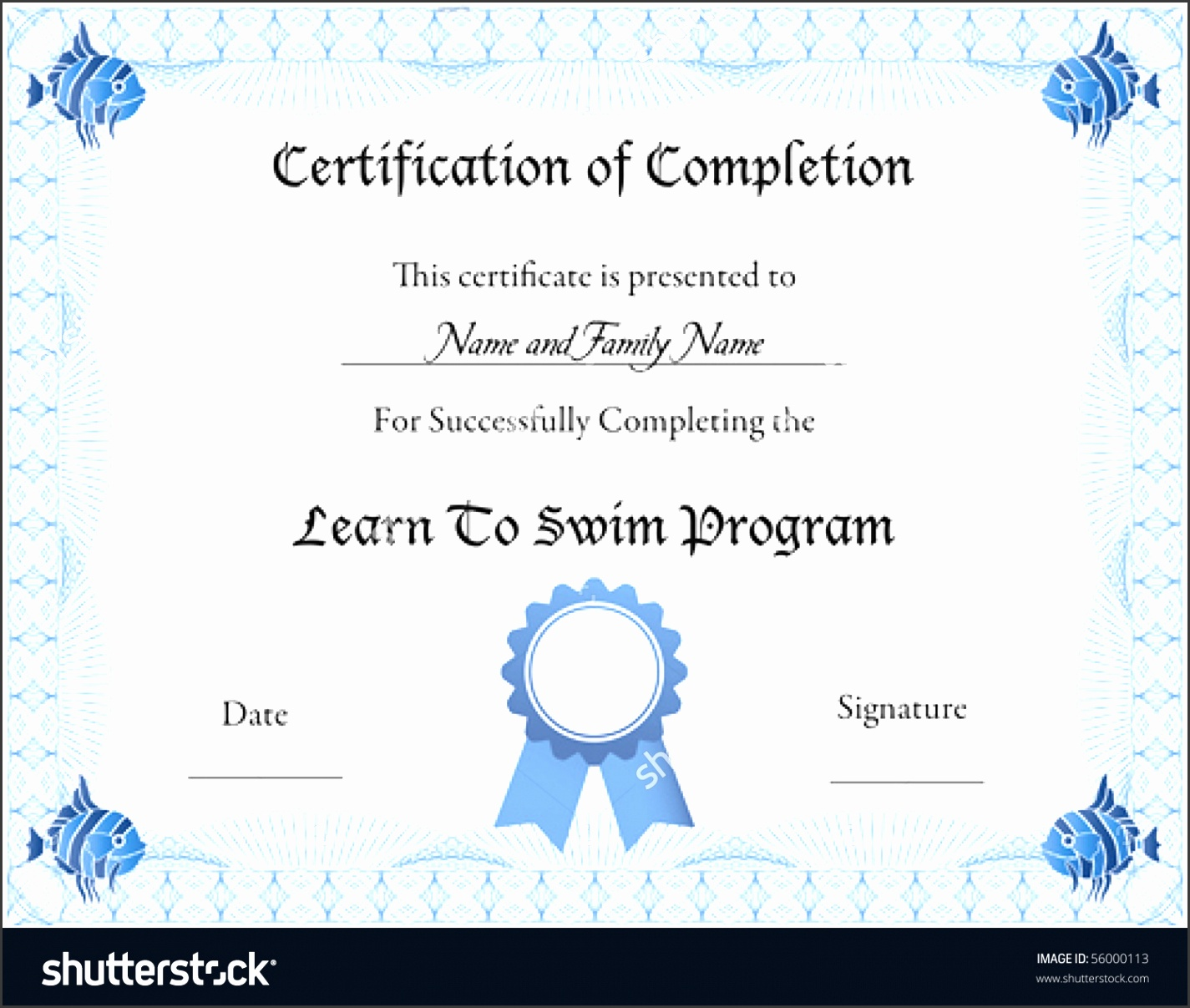 Swimming certificate templates free 4 best and various swimming certificate templates free 4 alramifo Image collections