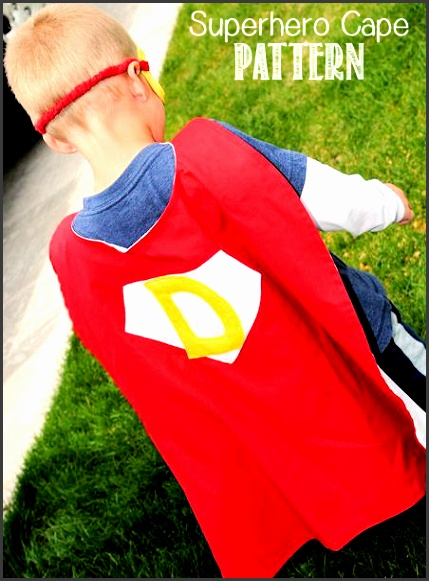 Superhero Cape Pattern by Crazy Little Projects