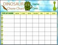 5  Chores Chart Template
