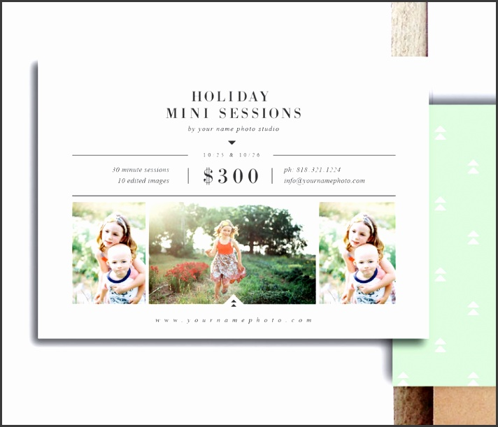 Christmas Card Templates for graphers & shop Users Holiday Card Template Set