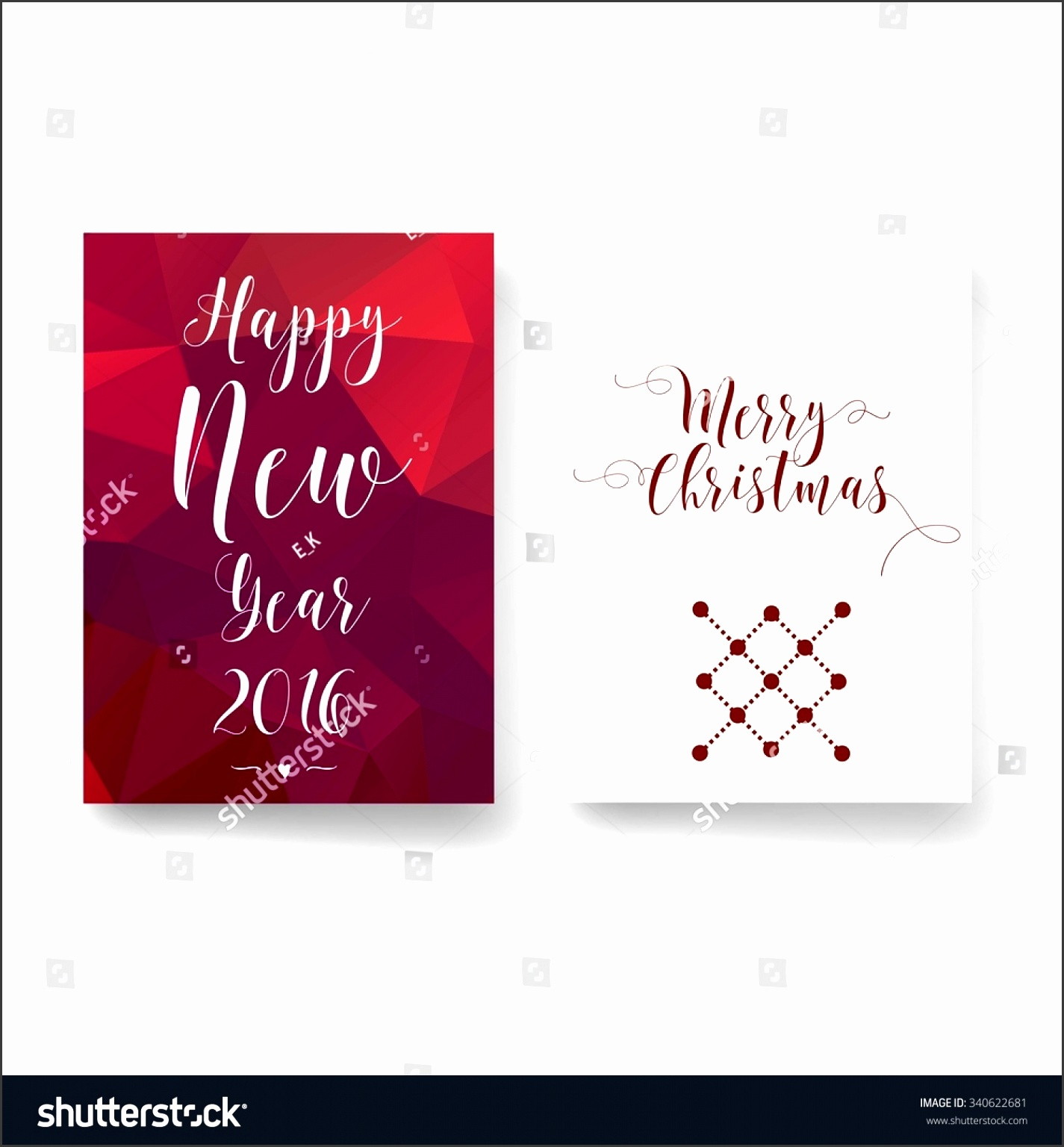 Colorful Merry Christmas flyer Christmas card templates Christmas Posters set Vector illustration