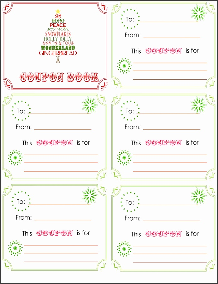 Best 25 Coupon books ideas on Pinterest Free printable coupons blank voucher template