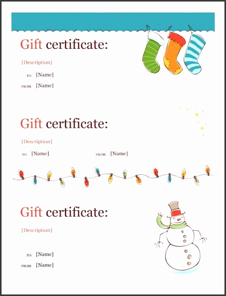 Holiday Gift Certificate Template Word Christmas Free Image Open Source Licensed Getcertificatetemplates Best Free Home Design Idea &