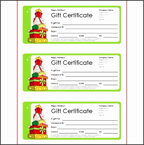 Small Business Gift Cards Christmas Gift Templates Free And Easy Options Download