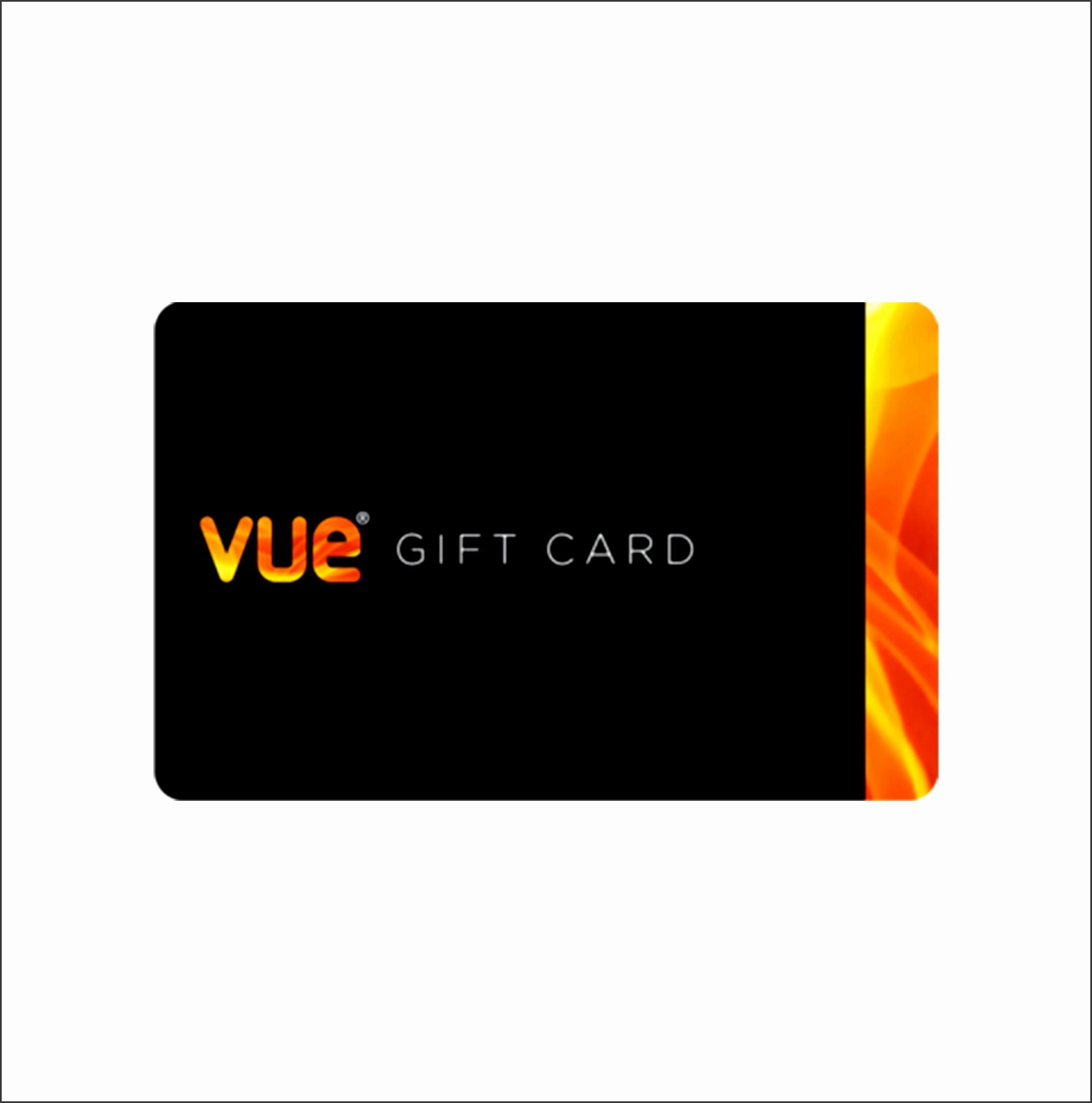 Win a VUE t card