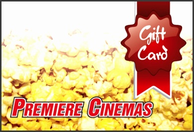 The Premiere Cinemas Gift Card
