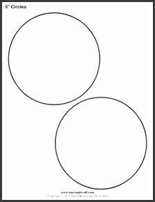 Free printable circle templates for creative art projects and school assignments