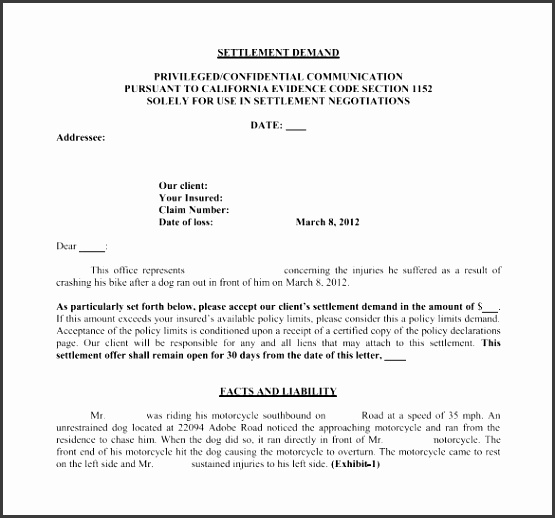 Demand Letter Template 10 Free Word Pdf Documents Download Demand Letter Template