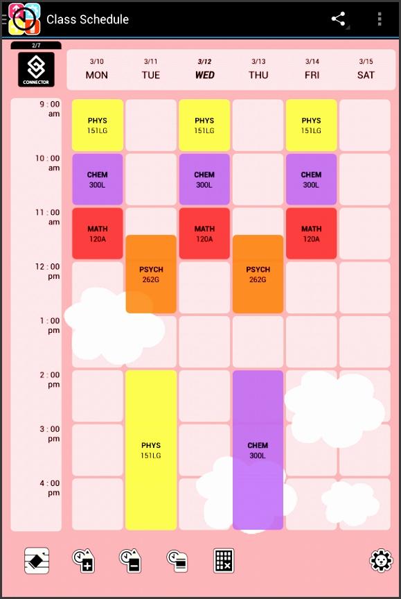 10 Class Schedule Maker Sampletemplatess Sampletemplatess