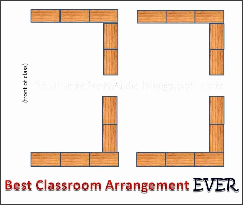 Your Teacheru0027s Aide Best Way to Arrange Desks Classroom classroom seating chart template free