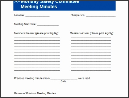 mittee Meeting Agenda Template 12 Free Word PDF