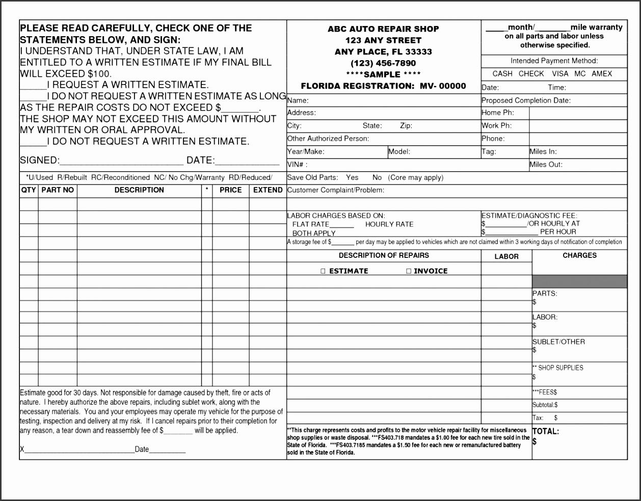puter repair invoice pdf