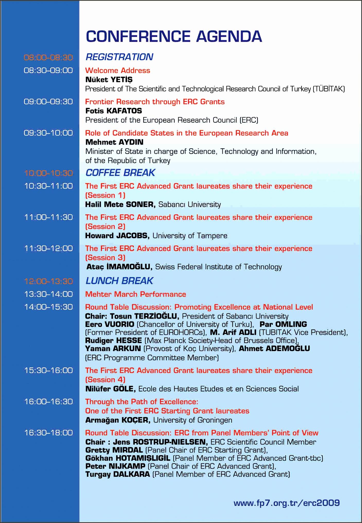 conference agenda template 10 conference agenda template