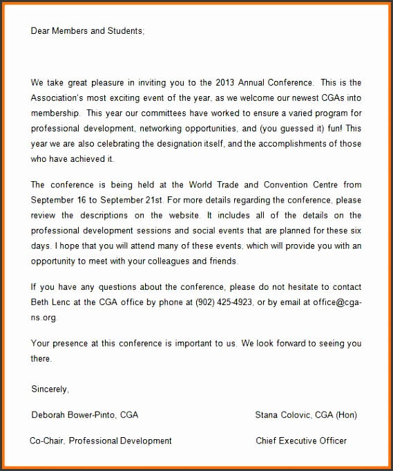 meeting announcement template word sample conference invitation template
