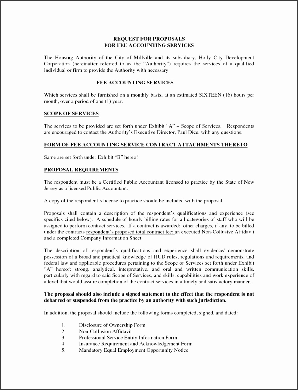 Proposal Business Proposal Template For Cleaning Services
