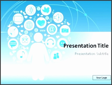 Social Media Powerpoint Template Free Download Free Social Media for Media Powerpoint Templates