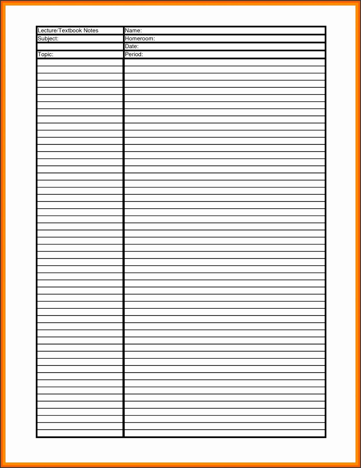 cornell notes pdf cornell notes template pdf cornell