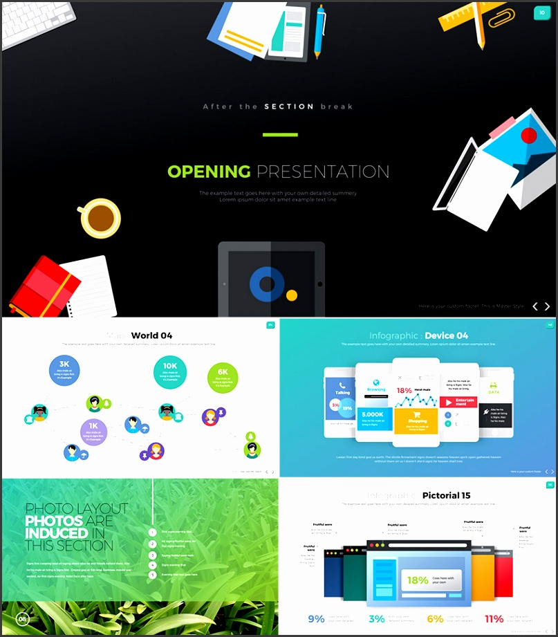 Digit e Stop Awesome Business PowerPoint Design