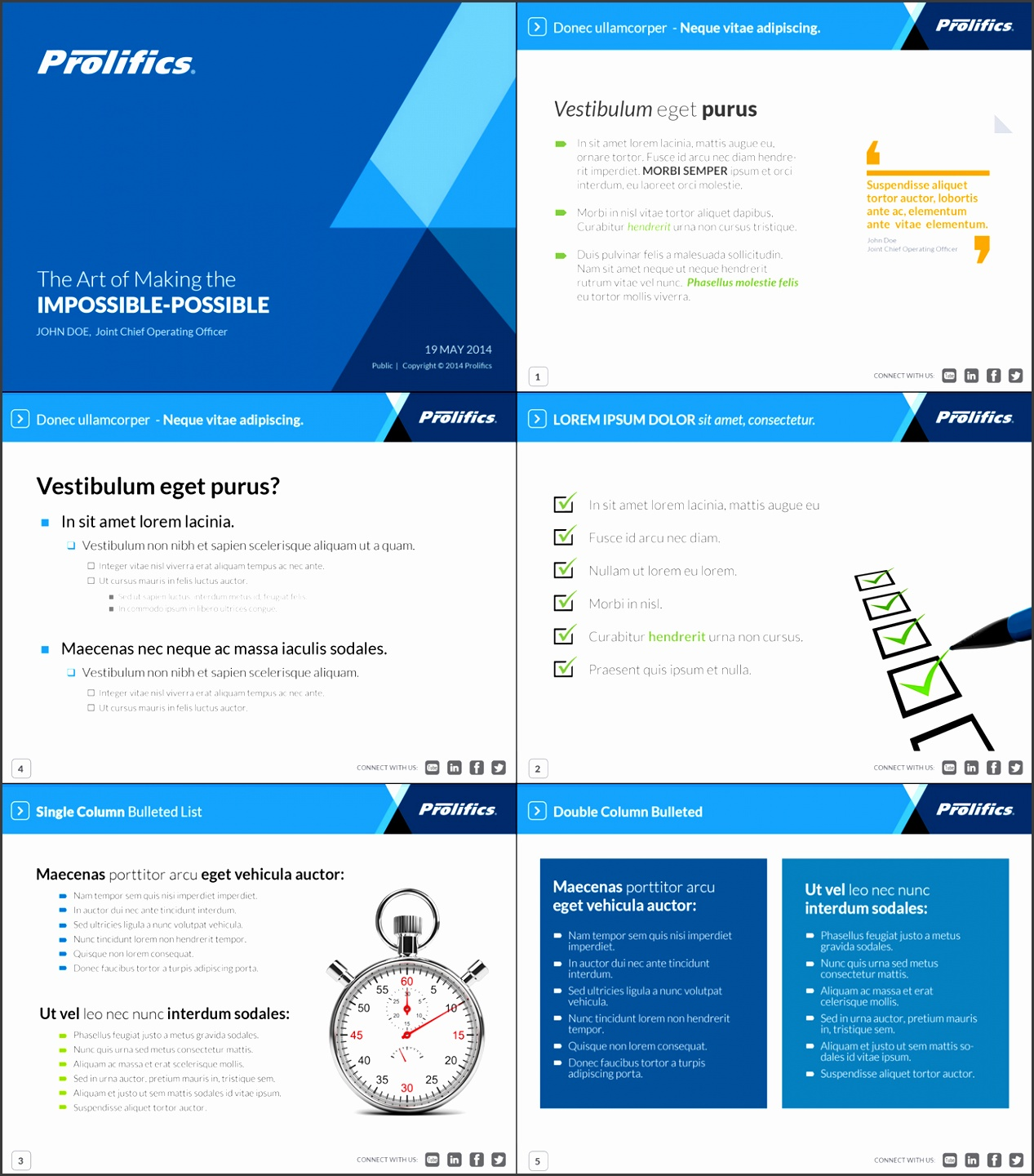 PowerPoint Design by Ayzeek for IT Services pany Needs Corporate PPT Template Design