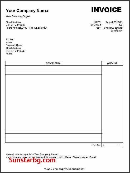 Invoice Template for Create Free Invoice Template Best Create Invoice In Word Free Invoice