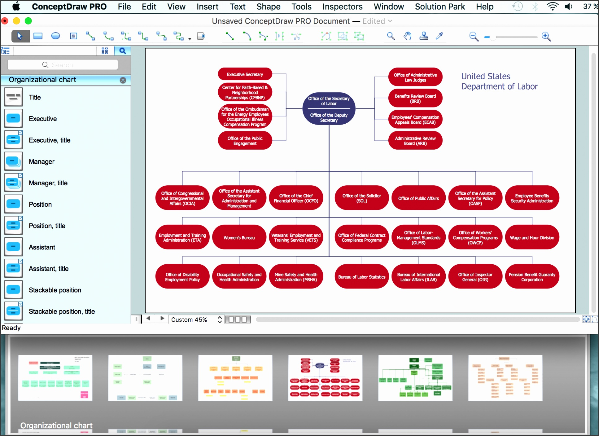 Orgchart sample Related Solution Organizational Charts