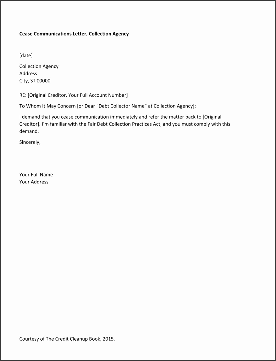 Resources — The Credit Cleanup Book line intended for Dispute Letter To Collection Agency