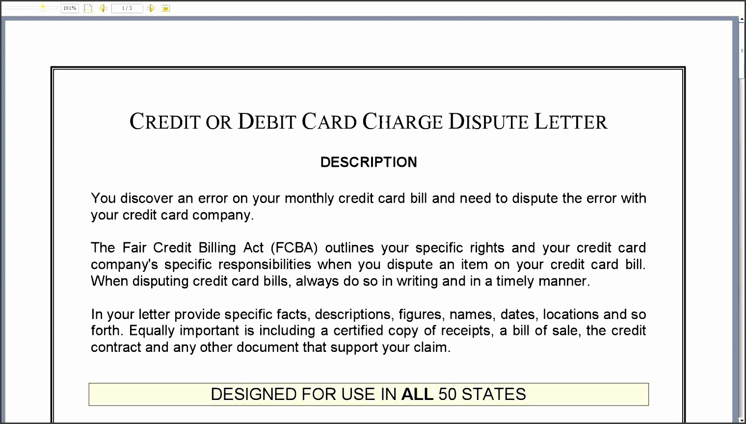 credit dispute form report equifax transunion pdf letter fedloan banking or