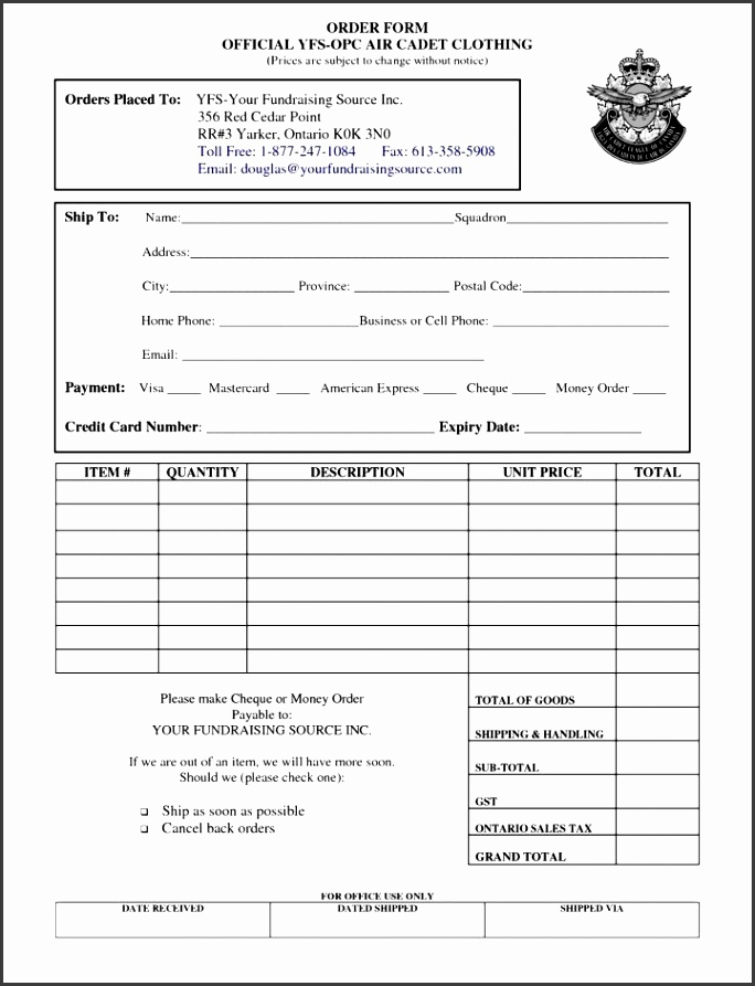 clothing order form template free besttemplates123 cake invoice bakery invoices example wedding bill of bills format