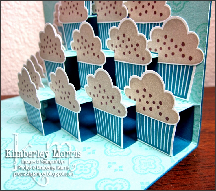 I m Back with a Tier of Cupcakes Card