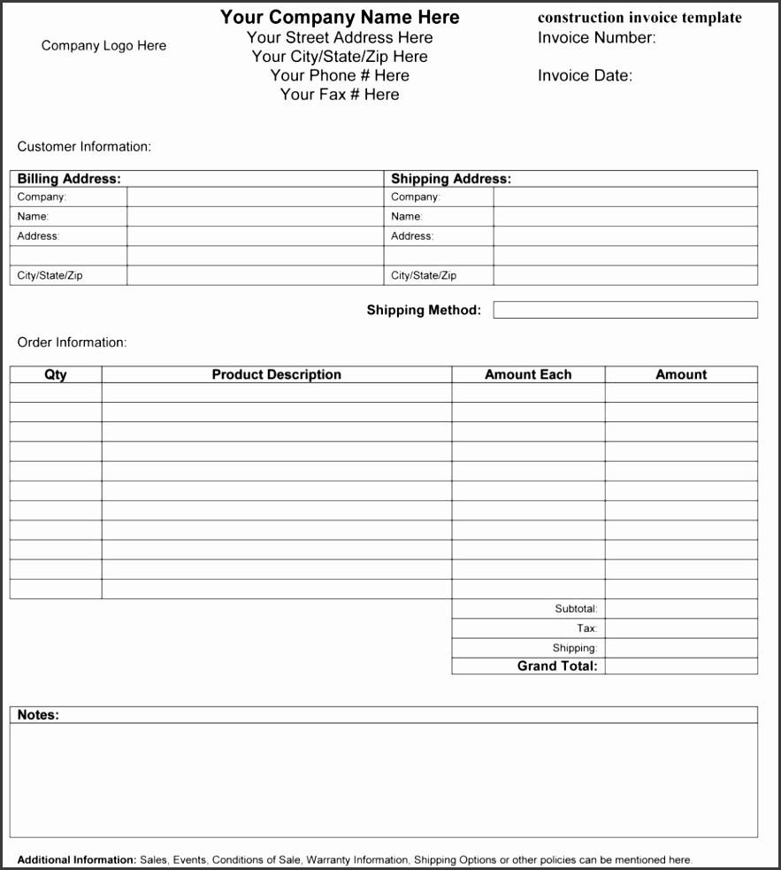 Excel Bill Sale Template and Ms Custom Invoice Template International Adventure Trip Leader