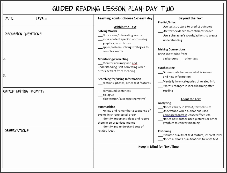 All in e Guided Reading Toolkit
