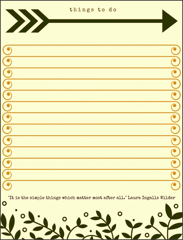 40 Printable To Do List Templates Kitty Baby Love Daily To Do List Template Printable To