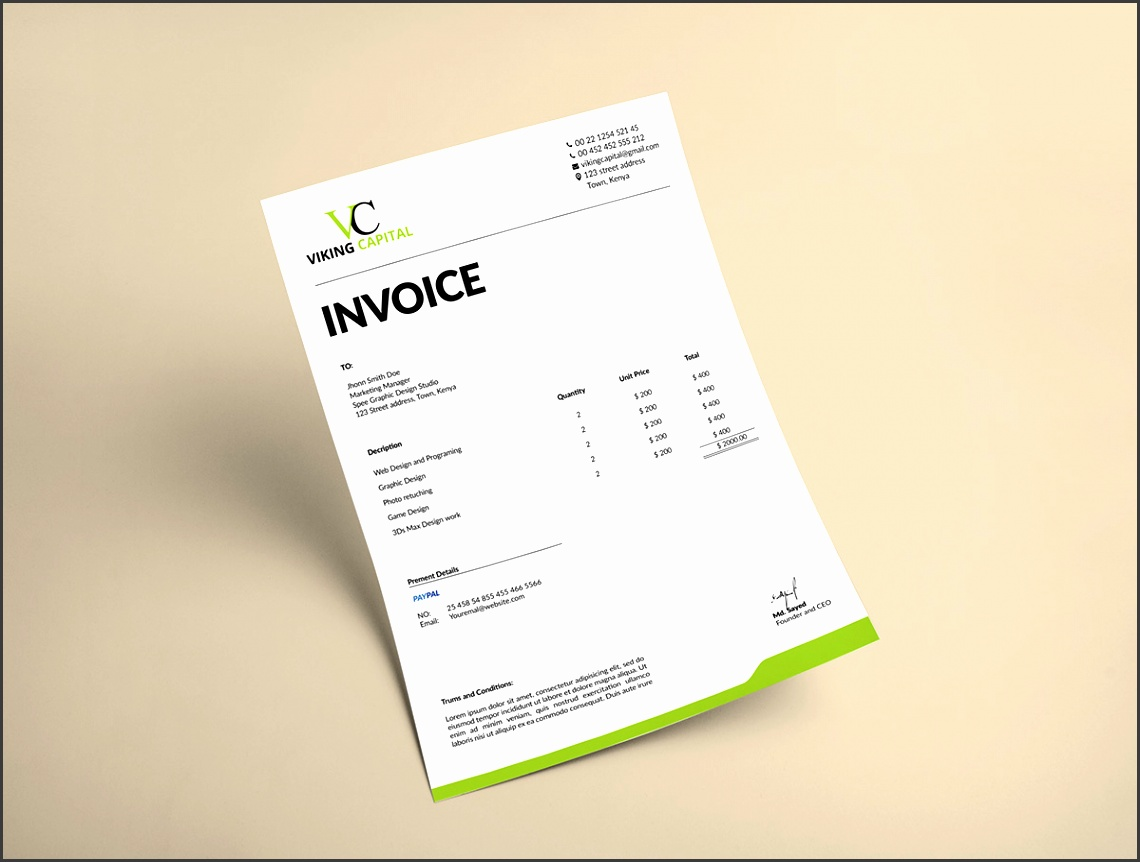 Thank you everyone for Watching my Invoice Template design