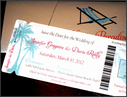 Boarding Pass Destination Wedding Invitations Boarding Pass Wedding Invitations Save The D on Destination Wedding Invitation