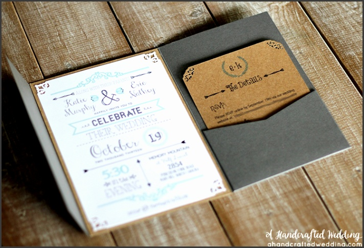 diy wedding invitations 7