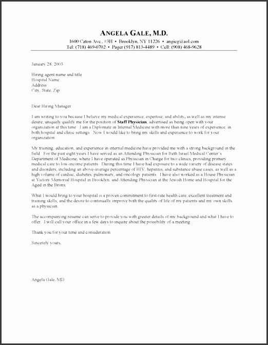 Sample Resume Job Application Letter Doctor General Sle
