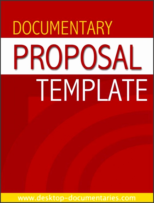 Documentary Proposal Template Documentary & making Pinterest
