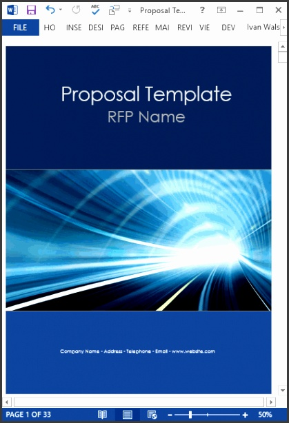 This template is ideal for IT Consultancy Energy and other type of business proposals