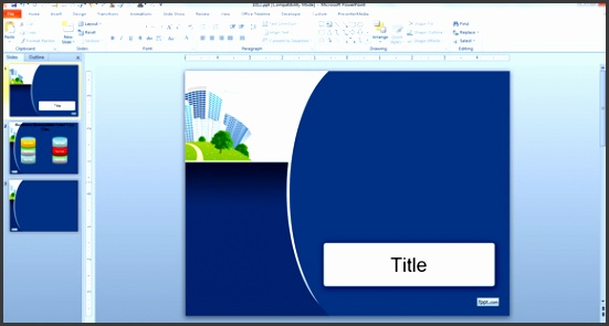 Enterprise PowerPoint PPT Template Free Download