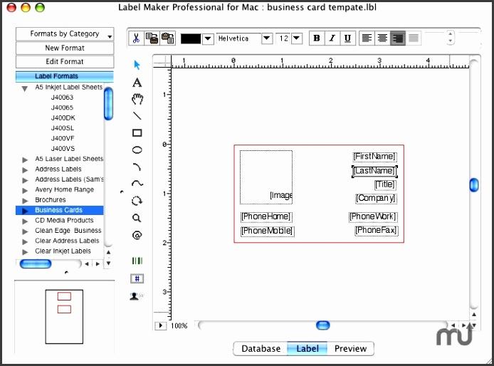 Screenshot 1 for Label Maker Professional