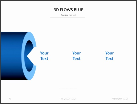 3D Animated PowerPoint Template to Download for Mac