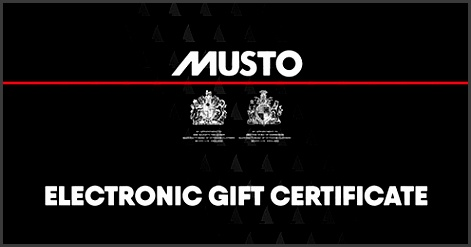 Musto Electronic Gift Certificate