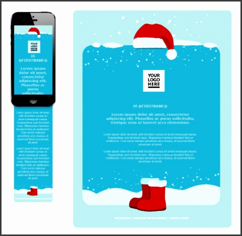 Free Seasonal Email Templates Choose yours and start sending