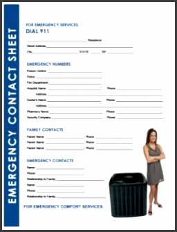 Give Your HVAC Customers an Emergency Contact List