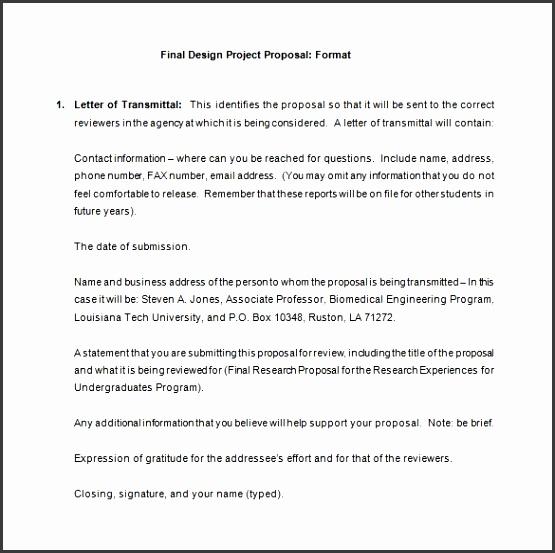 How To Build A Proposal Template Design Proposal Templates 18