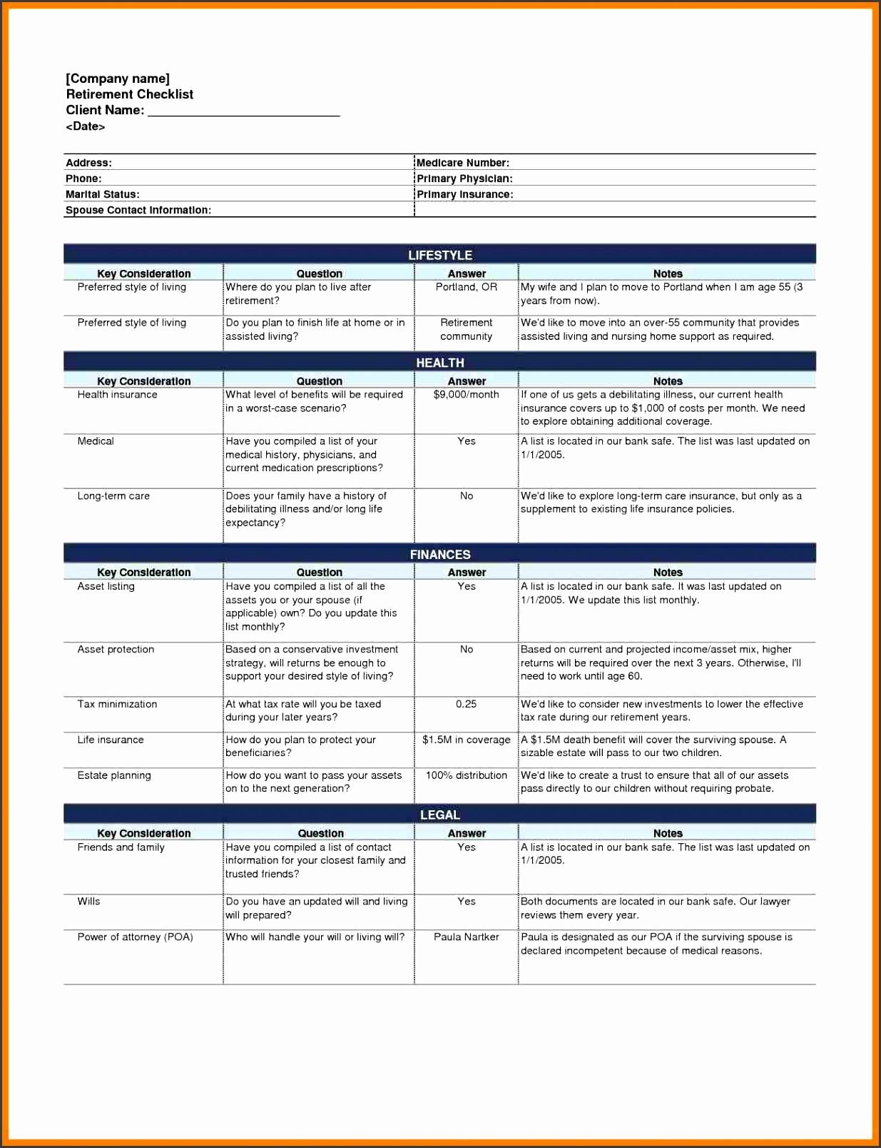 4 event planning checklist template
