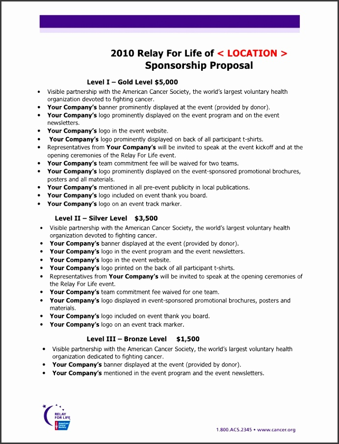 racing sponsorship proposal template Success VmAh1cE6