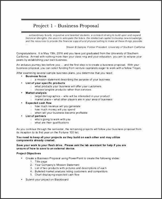 business project proposal template sample project proposal 7 documents in word pdf