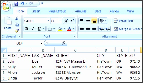 How to set up a Word Mail Merge for Kinkos Mailing Labels