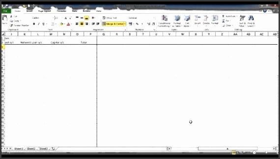 bookkeeping excel spreadsheet